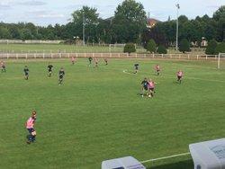 Les U15 victorieux face aux seniors de Douai