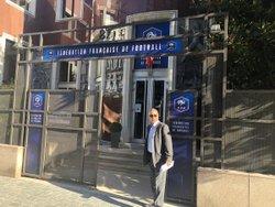 L'ESB au siège de la fédération à Paris