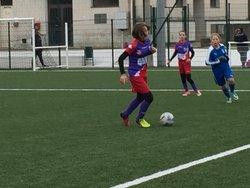 1er match de la 2ème phase pour les U14Féminine , match nul 4 à 4 à Fontenay - Entente Sportive du Château d'Olonne
