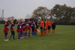 GJ U14 Féminine contre St George de Montaigu , Victoire 3 à 0 - Entente Sportive du Château d'Olonne