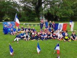 Les débutants supporter de l'équipe de France