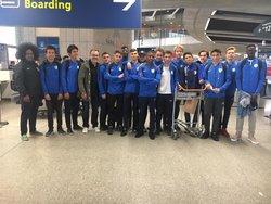 Nos jeunes à la Dana Cup - Entente sportive Petits Anges Paris