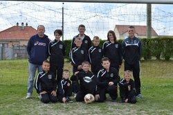Equipe U11 ( 2014 -2015)Survetement offert par la societe SODINE de Sommepy - Effort Sportif Vouziers