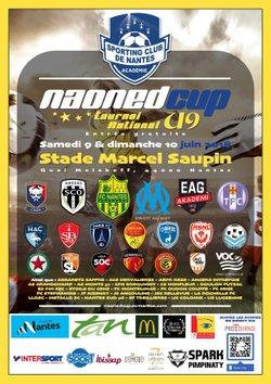 Naoned Cup - tournoi national U9 - stade Marcel Saupin à Nantes - LA FRANCE D'AIZENAY FOOTBALL