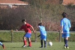 match U13/ U15 ET PREMIERE - F.C Amollois