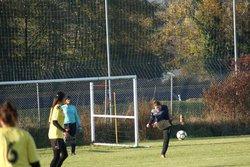 Séniors filles contre Montanou le 19/11/2017 - FC BIAS
