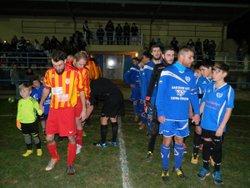 Demi-finale de challenge district de l'équipe 2 - Football-Club-Castera-Verduzan