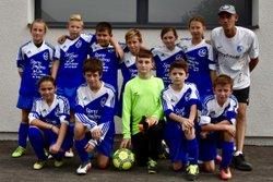 U13 à BREZINS - football club chirens