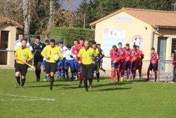 Seniors D1, FCEE bat Pierrelatte 3-1 première mi-temps - FC EYRIEUX EMBROYE