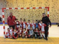 TOURNOI SALLE U7 - NEUVILLE S/Saone - 21/01 - Football Club du Mas Rillier