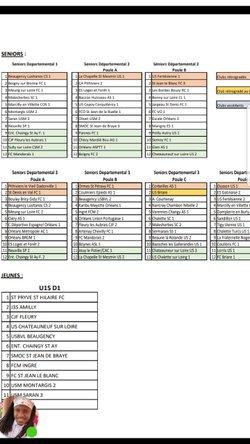 Championnat 2 ème division  fc pannes
