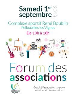 FORUM des ASSOCIATIONS Verrières en Anjou Sam. 1er Sept