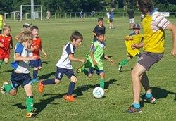 MATCH PARENT ENFANT U6-U7 dernier entrainement - RUFFEY SAINTE MARIE FOOTBALL CLUB
