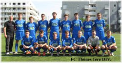 Equipes saison 2015-2016 - FC.Thônes