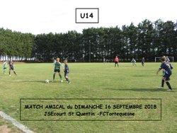 Week-end des 15 et 16 septembre en photos - FC Tortequesne