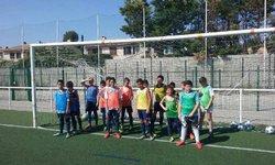 Entraînement de nos jeunes footballeurs avec une belle journée ensoleillée ☀️ - FC Avignon Ouest