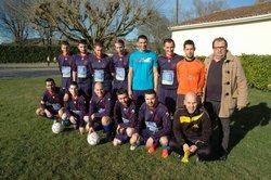 Equipe B à BLANZAC - football club charentais l'isle d'espagnac