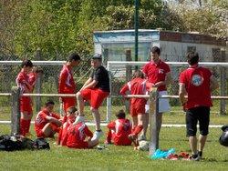 U13, photos d'avant-match contre Ste Livrade / Le 8-04-17 à Casteljaloux - Football Club Casteljaloux