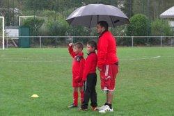 U9 : Jouons sous la pluie ! - Football Club Cessy Gex