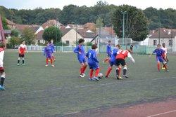 Equipe U15B 2016-2017 match contre Nicolaïte Chaillot - FC CHAVILLE