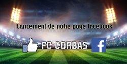 Lancement de notre page Facebook ! FC CORBAS - Football Club de Corbas