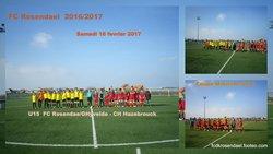 "U15 ""B"" ELITE COUPE MARITIME 18/02/2017 - FOOTBALL CLUB DE ROSENDAEL"