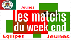 Planning du 10/02 , U13 , U15 , U17 , U19 - FOOTBALL CLUB DE ROSENDAEL