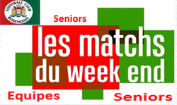 Planning seniors dimanche 10 - FOOTBALL CLUB DE ROSENDAEL
