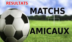 Résultat match amical