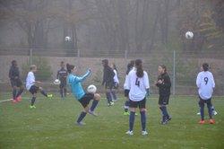 SELECTION U15 FEM CONTRE NOS U14 - FOOTBALL CLUB FUVEAU PROVENCE
