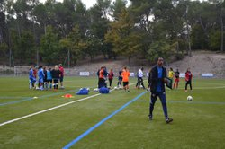 DÉTECTION FÉMININES U15 - DISTRICT (28/10/14) : - FOOTBALL CLUB FUVEAU PROVENCE