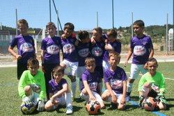 U8-U9 : PLATEAU LA DESTROUSSE - 21/05/016 - FOOTBALL CLUB FUVEAU PROVENCE