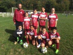 Photo de groupe saison 2017/2018 - Football Club Haut Vendômois
