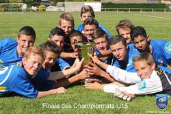 u15champion du district deuxieme serie - Football Club Barpais