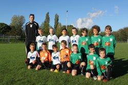 U9: plateau à Hières sur Amby 18/10/2014 - FOOTBALL CLUB OLYMPIQUE CHANDIEU