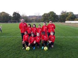 L'equipe U9 Filles - FC REMOIS