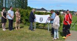 Inauguration du terrain d' honneur du FCRN - Football Club du Roumois Nord