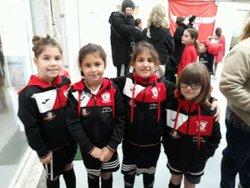 Plateau u8-u9 féminin footpark - FC ROUILLAC