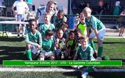 10 Juin 2017 - 10 ème édition du tournoi Alain Rousseau - catégorie U10/U11 - FC Rambouillet Yvelines