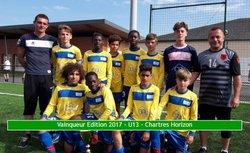 11 Juin 2017 - 10 ème édition du tournoi Alain Rousseau - catégorie U12/U13 - FC Rambouillet Yvelines