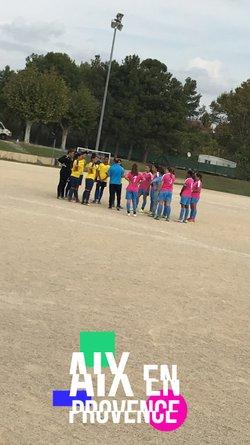 Un match nul pour nos féminines - F.C. SAINT-MITRE LES REMPARTS