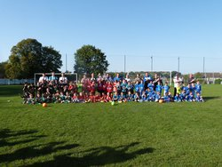 RETOUR SUR INTERCLUBS U7+U9 14.10.17 A ST CORNEILLE - FOOTBALL CLUB DE SAINT CORNEILLE