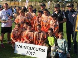 Vainqueur de l'Europa League au tournoi d arcachon - FOOTBALL CLUB VILLEGOUGEOIS