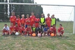 Match amical des u10/u11 du fcvc contre les u10/u11 de crépy-en-valois . - F.C VILLERS COTTERETS