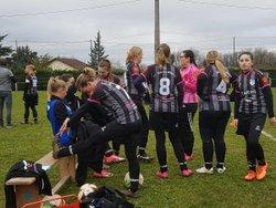 Victoire des filles contre créonnais ! - FOOTBALL CLUB VALLEE DE LA DORDOGNE