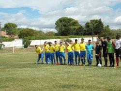 équipe 1 contre FC Corbière Medit. le 17 septembre 2017 - FC Villedubert