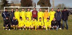 Match de l'équipe 1 en coupe favre à Fanjeaux - FC Villedubert