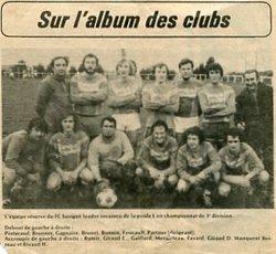 souvenirs... souvenirs... - football club savigné - secrétariat