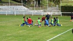 U18 qualification en Coupe de la Dordogne face à RIBERAC - Ecole de foot FOOTHISLECOLE