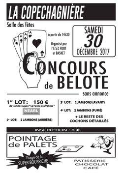 concours de belote - ES La Copechagniere